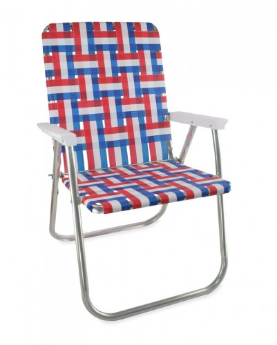 Old Glory chair by Lawn Chair USA