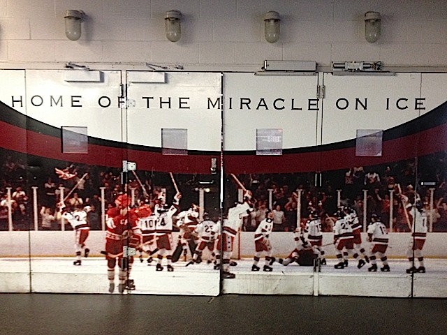 Doors to Herb Brooks Arena & Lake Placid: Miracle on Ice mirage in gift shop - Goulet ...